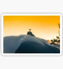 Beautiful Christ The Redeemer Sticker