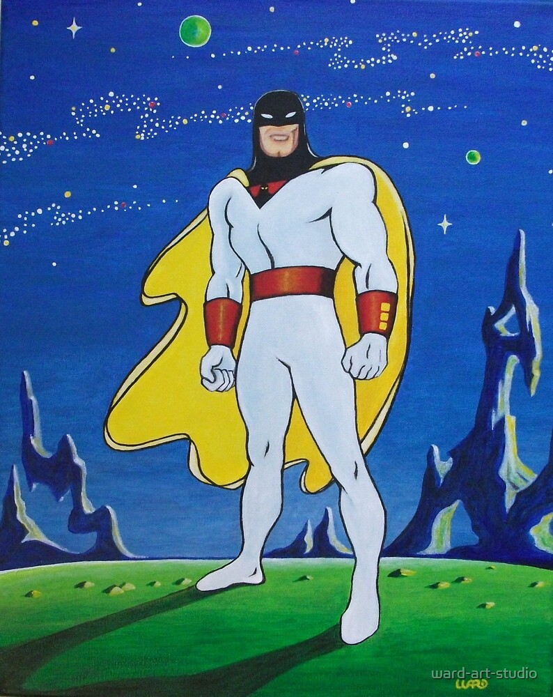 SPACE GHOST by ward-art-studio