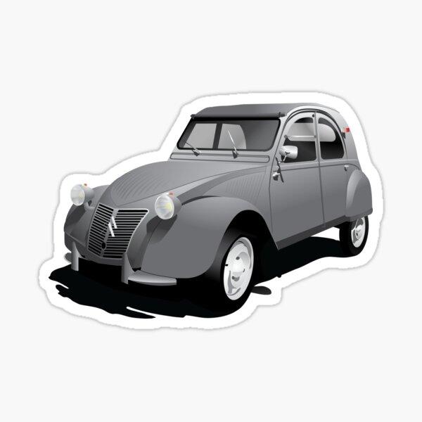 Citroën 2CV gris Sticker