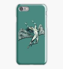 ICARUS THROWS THE HORNS - lightning bolts iPhone Case/Skin