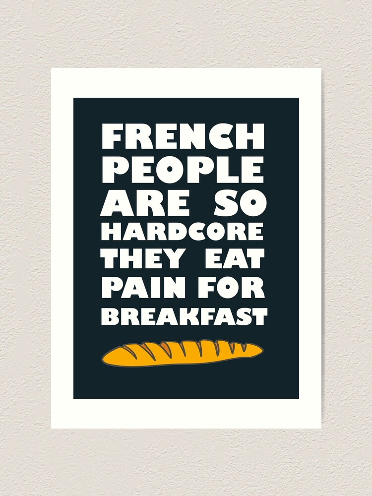 Alternate view of French People Art Print