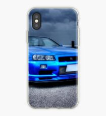 Nissan Skyline in HDR iPhone Case