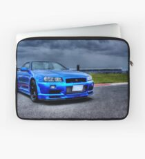 Nissan Skyline in HDR Laptop Sleeve