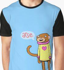 Esel-Affe Grafik T-Shirt