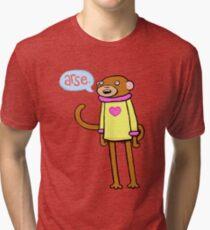 Arse Monkey Tri-blend T-Shirt