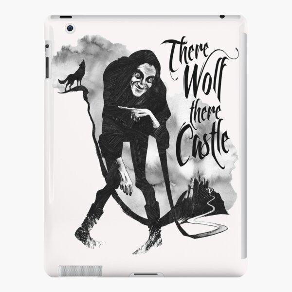 There Wolf There castle iPad Snap Case