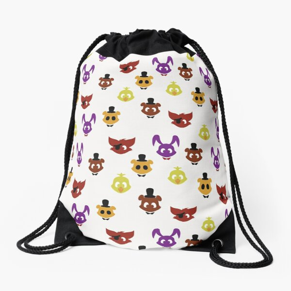 FNAF: the Original Five Drawstring Bag