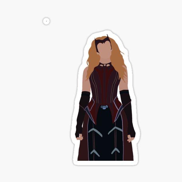 Nuevo traje Wanda episodio 9 Pegatina