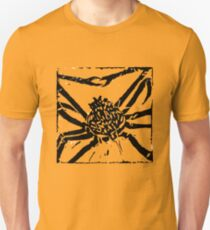 Giant Spider Crab - Museum Linocut Collection T-Shirt