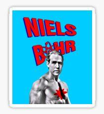 Niels Bohr Superhero Sticker