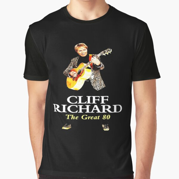 Best Clear Design of American Legend Singer Songwriter  Actor Cliff Richard  Graphic T-Shirt