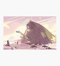 Crystal Temple - Steven Universe! Photographic Print