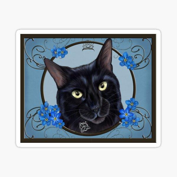 Celtic Kitty Sticker