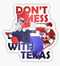 Texas Rangers Punch Sticker