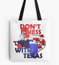 Texas Rangers Punch Tote Bag