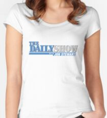 The Daily Show with Jon Stewart Women's Fitted Scoop T-Shirt