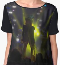 Mad T Party Band Chiffon Top