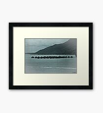 South Pacific Memories Framed Print