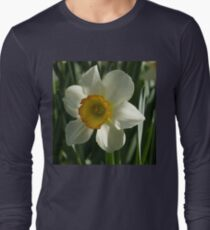 Poet's Daffodil Square Long Sleeve T-Shirt