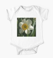 Poet's Daffodil Square One Piece - Short Sleeve