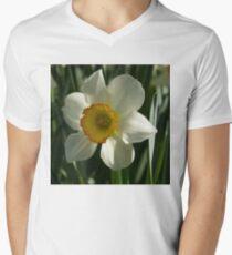 Poet's Daffodil Square T-Shirt