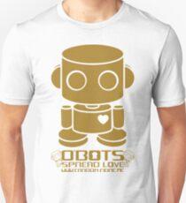 O'BOT: Love is Golden 2.0 Unisex T-Shirt