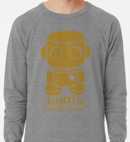 O'BOT: Love is Golden 2.0 Lightweight Sweatshirt