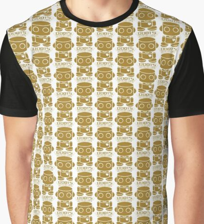 O'BOT: Love is Golden 2.0 Graphic T-Shirt