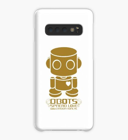 O'BOT: Love is Golden 2.0 Case/Skin for Samsung Galaxy