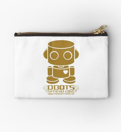 O'BOT: Love is Golden 2.0 Studio Pouch