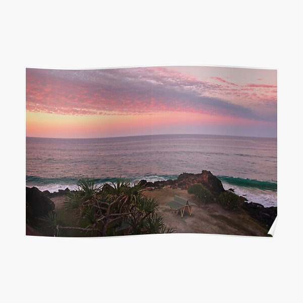 Ocean View From Point Danger Poster