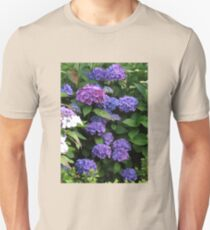 Blue Beauties - Hydrangea Blossoms T-Shirt