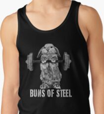 Buns of Steel (Dark) Tank Top