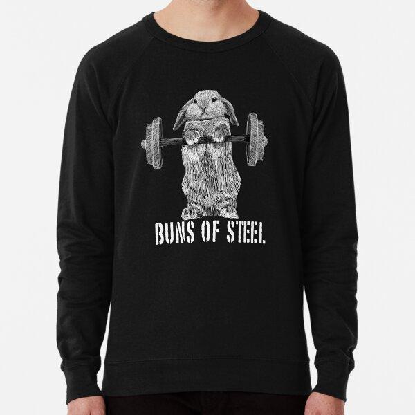 Buns of Steel (Dark) Lightweight Sweatshirt
