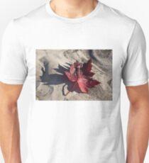 Deep Red Maple Leaf T-Shirt