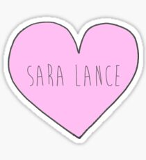 i heart Sara Lance Sticker