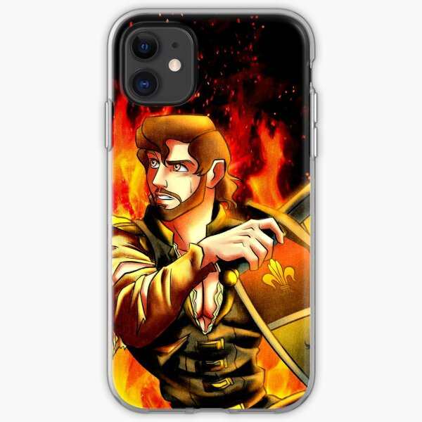 Flames iPhone Soft Case