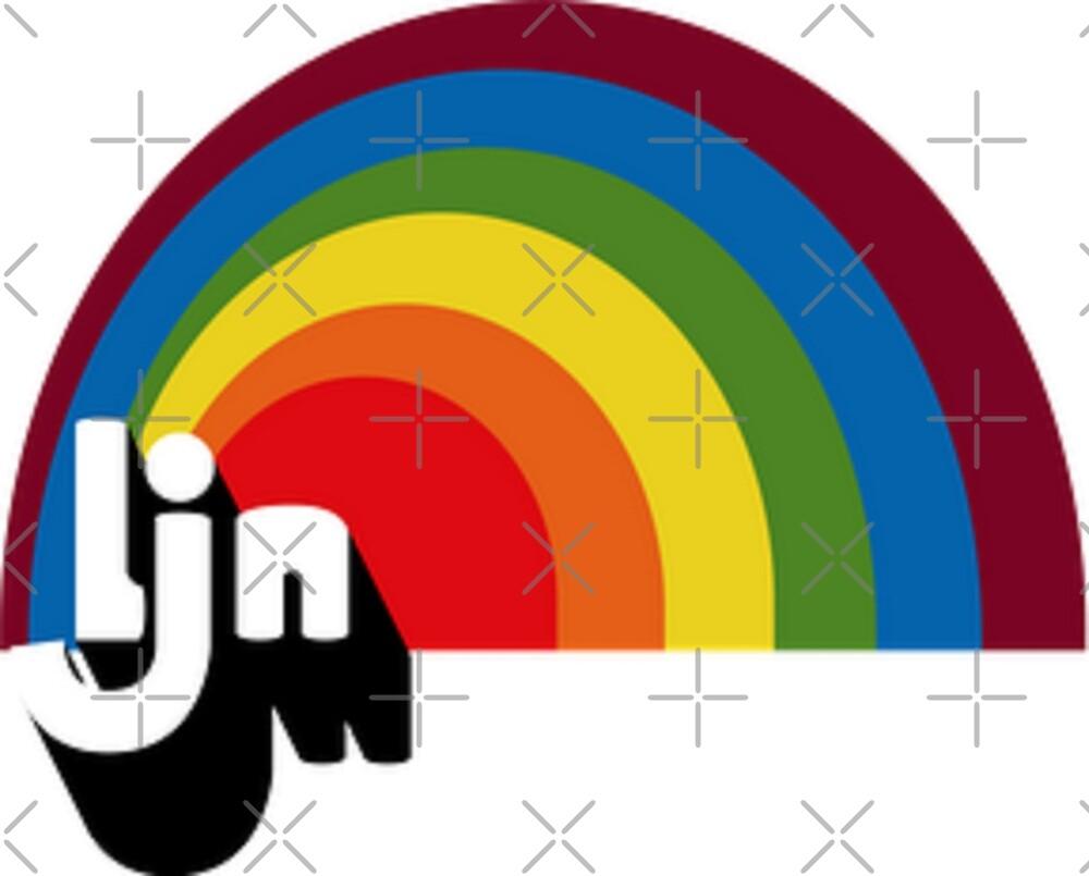 Vintage LJN Rainbow Logo  by MIKESDEADFORMAT
