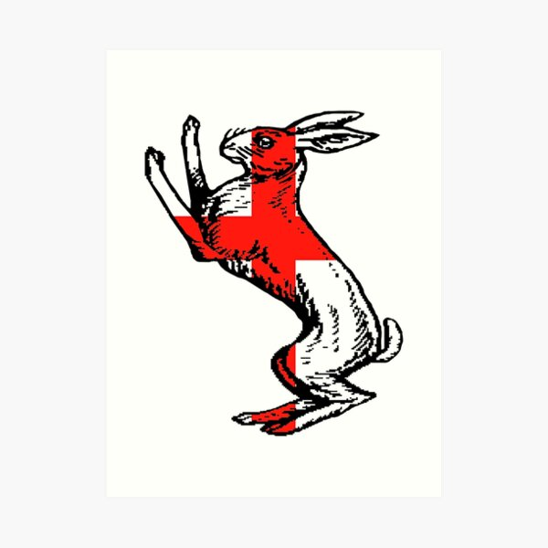 Mad March Hare Art Print