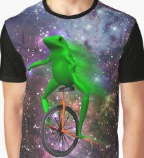 Camiseta gráfica dat boi meme camiseta