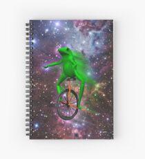 dat boi meme shirt Spiral Notebook