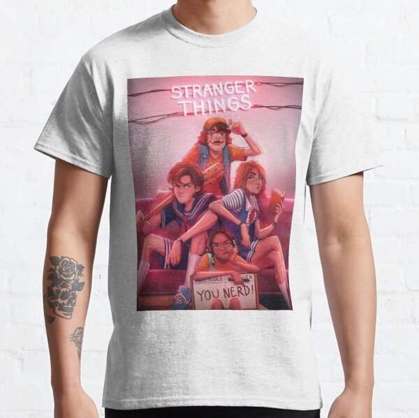 Stranger things T-shirt classique