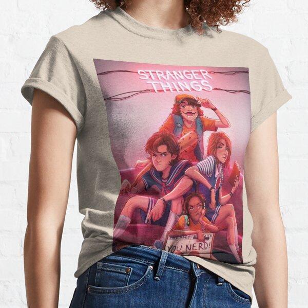 stranger things Camiseta clásica