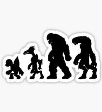 Halo:  Evilution Sticker