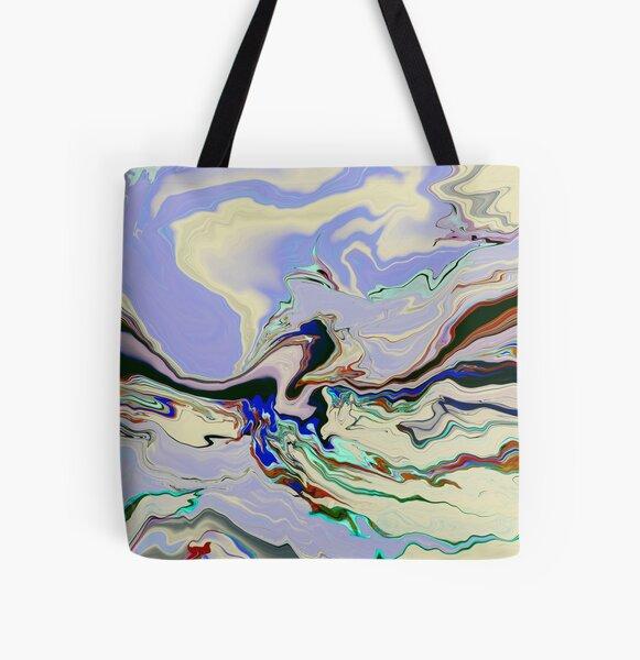 Amnesia All Over Print Tote Bag