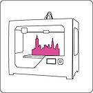 3D Printer Ideogram by Holly Daniels
