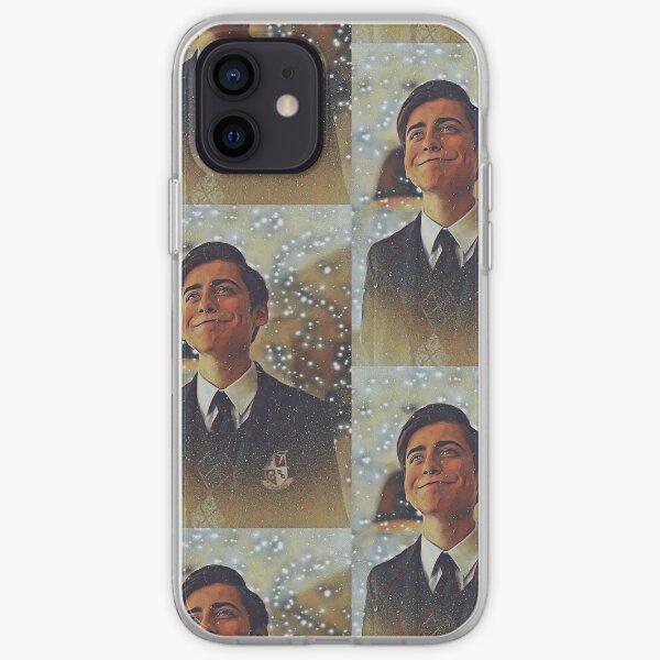 Aidan Gallagher Fan Art (Five Hargreeves-Umbrella Academy) Funda blanda para iPhone