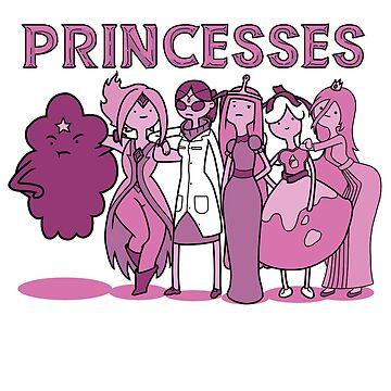 Princesses by chancel