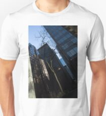 A Study in Contrasts - Downtown Toronto Miniature Park - Left T-Shirt