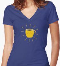 Good morning sunshine Women's Fitted V-Neck T-Shirt